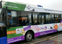 EnergieFlex advertises on Dutch buses