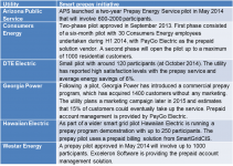 Investor-owned utility prepay initiatives in the United States